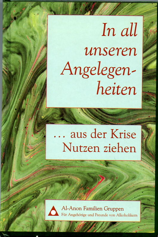 Buchcover: In all unseren Angelegenheiten