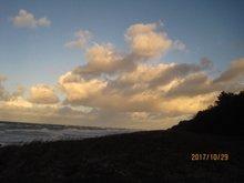 Foto Abendhimmel mit Wolken